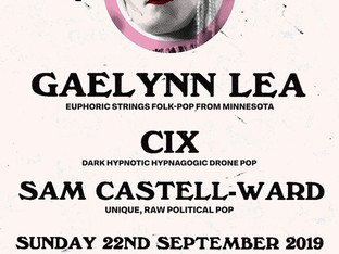 Sam Castell-Ward Supporting Gaelynn Lea