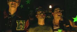 John T. Woods in 'Zombie Strippers'