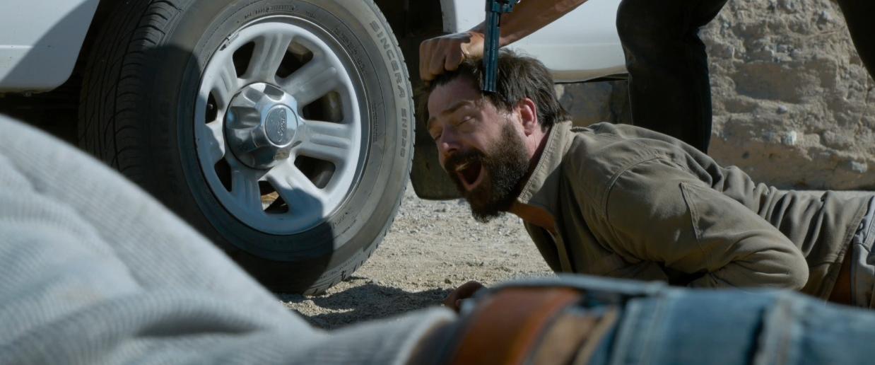 John T. Woods in 'Dead Bullet'