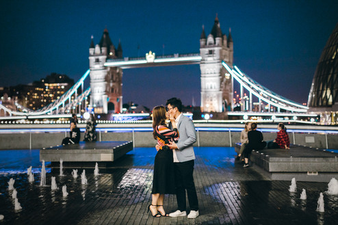 Couple photoshoot // Annie & Ken | Central London
