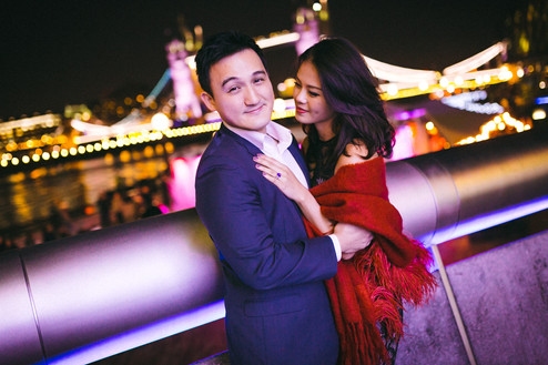 PRE-WEDDING PHOTOSHOOT // Joseph & Siska | London