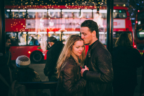 CHRISTMAS PHOTOSHOOT // Ian & Valia | London