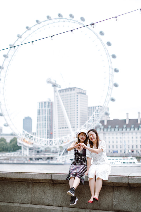 Friends photo session in London