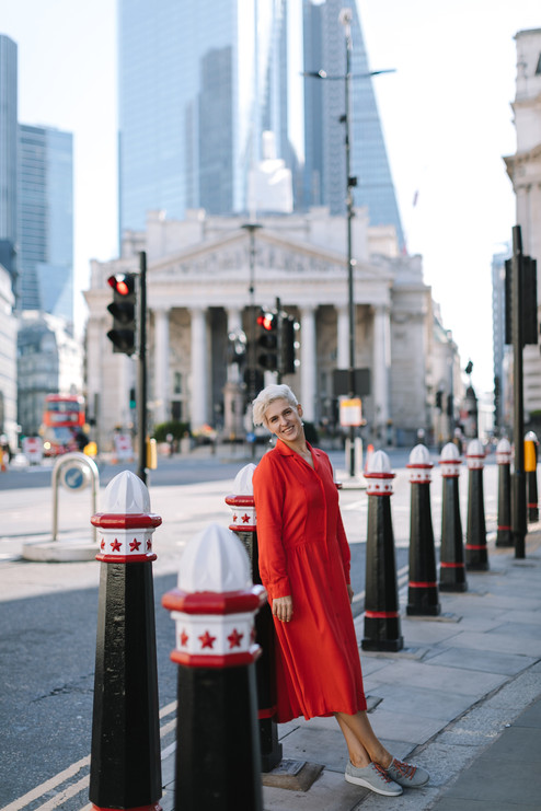 City of London portrait photo session