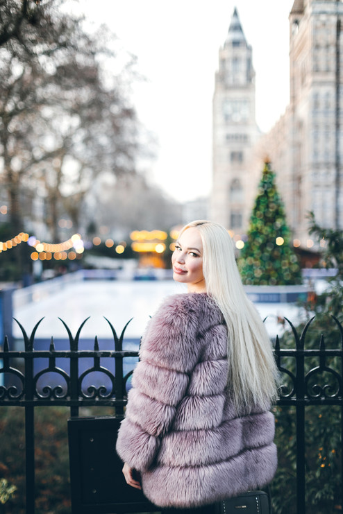 Christmas photosession in London