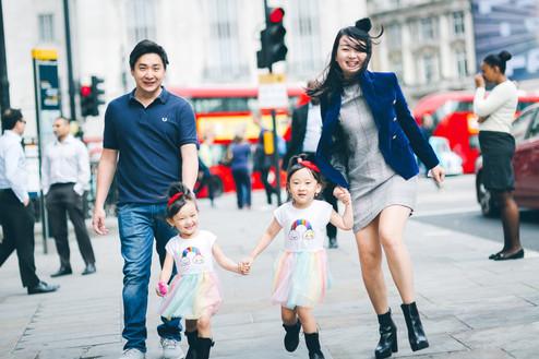 Family photoshoot // Central London