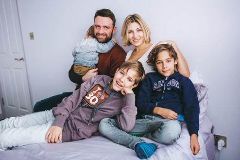 FAMILY PHOTOSHOOT // Yulia & Paolo | London