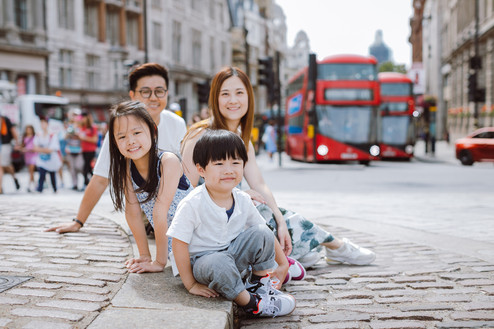 London Family Photo Session