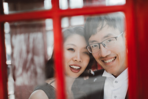 Pre-wedding photoshoot in Central London