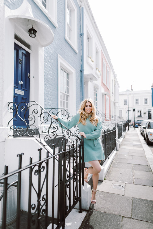 Photo session in Notting Hill