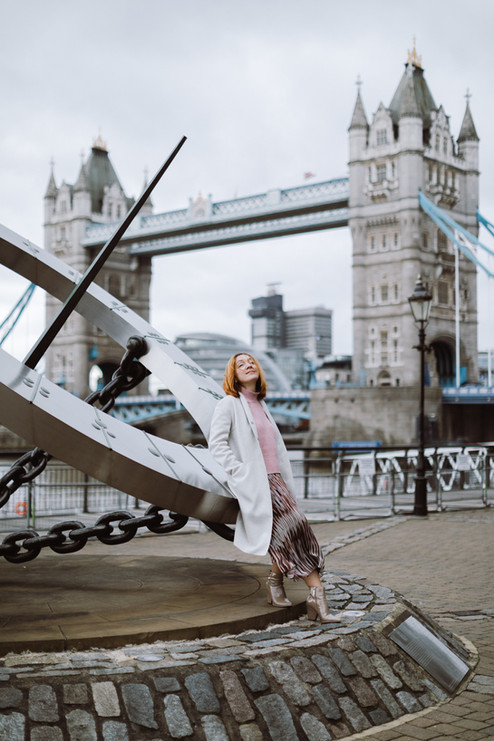 Solo photo session at Tower Bridge