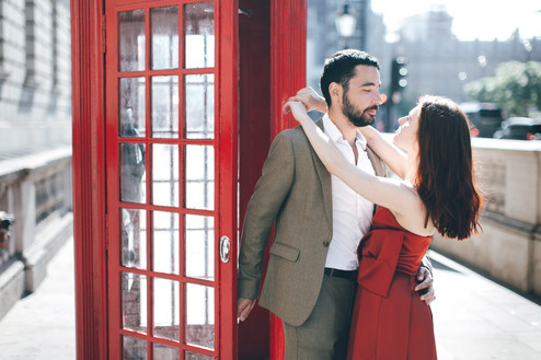 Couple photoshoot // Sofia & Victor | Central London