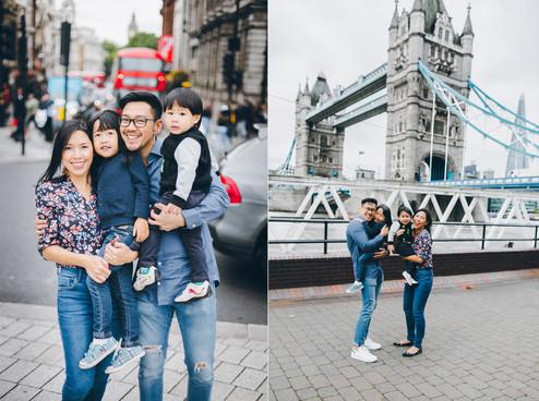 FAMILY PHOTOSHOOT // Waili & Ben, Natasha & Nathaniel | London