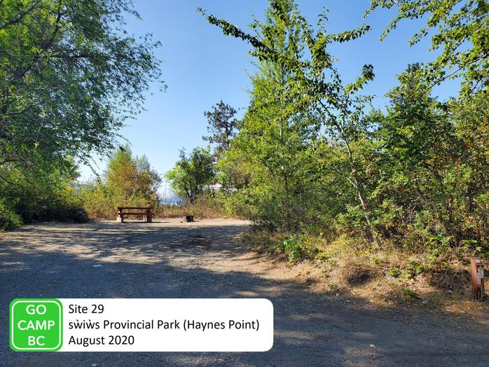 Haynes Point Site 29