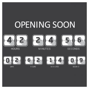 This is an image of a pretend countdown to a grand opening of a business. It adds to the importance of picking a date for a product launch.