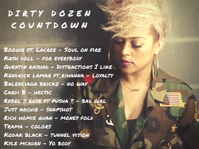 Dirty Dozen Playlist 4/23