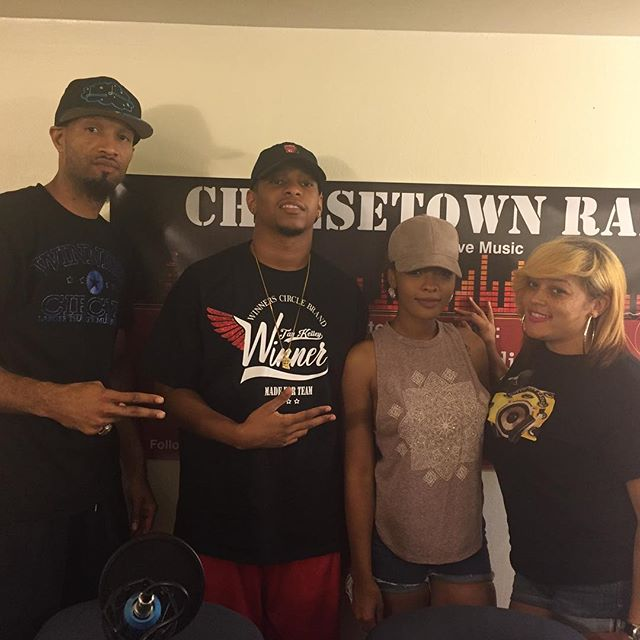 O to the fam for stopping by _cheesetownradio757 for a dope interview! #CheesetownRadio #DirtyTalkSu