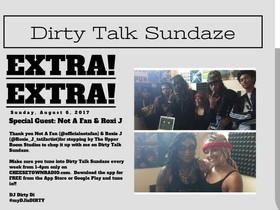 Dirty Talk Sundaze w/ NAF & Roxie J
