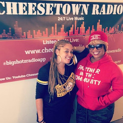 O to Queen Kim _kimwimbishpr for stopping pass _cheesetownradio757 and being a guest Dirty Talk Sund