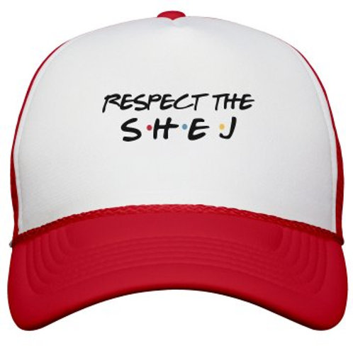 RESPECT the SHEJ Trucker Hat