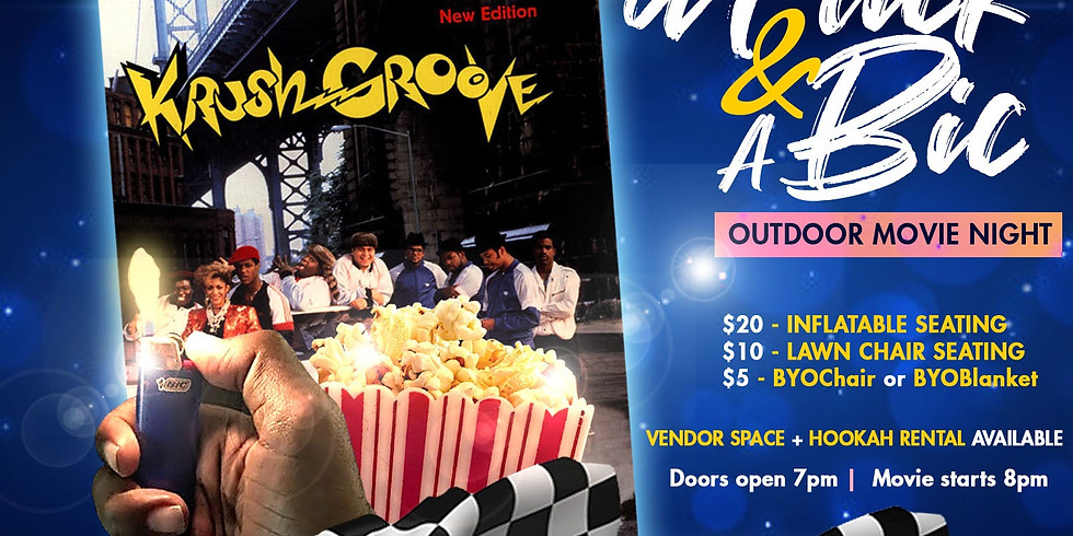"""A FLICK & A BIC - """"KRUSH GROOVE"""""""
