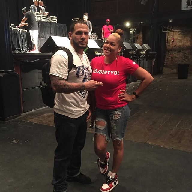 DMX DJ _djnonstophh and I! #HeavyHitterDJ #GoodShowGroup #CheeseTownRadio #DMXConcert #Norva #myDJis