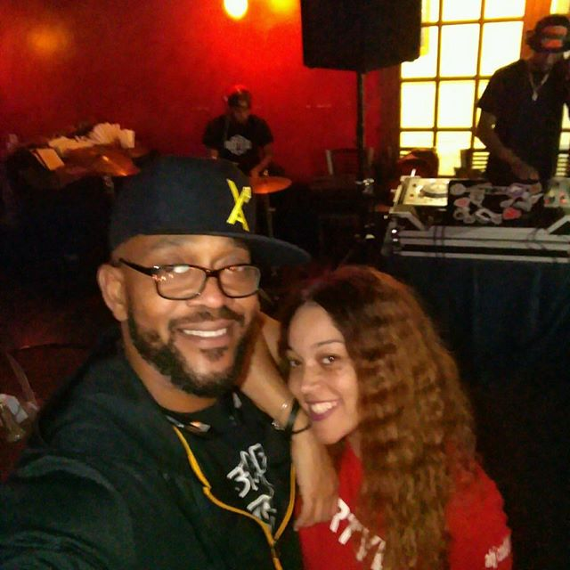 The LEGENDARY _bigb7city and I _ Expressions #RespecttheDJ #myDJisDIRTY