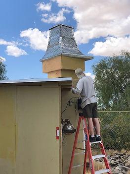 Steve painting tower.jpg