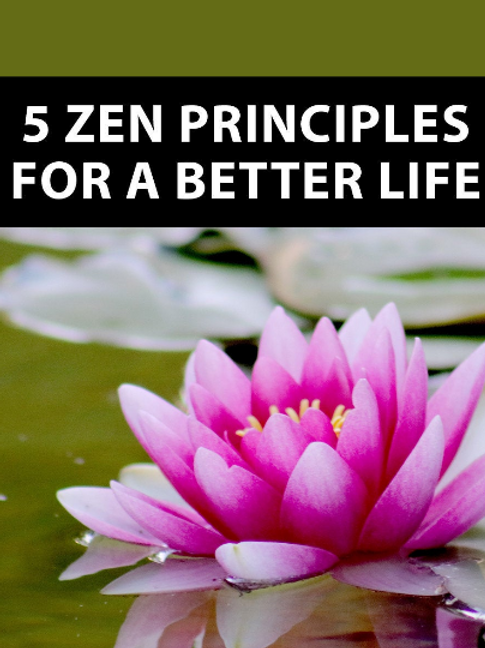 Zen -  5 Principles for a Better Life w/mp3
