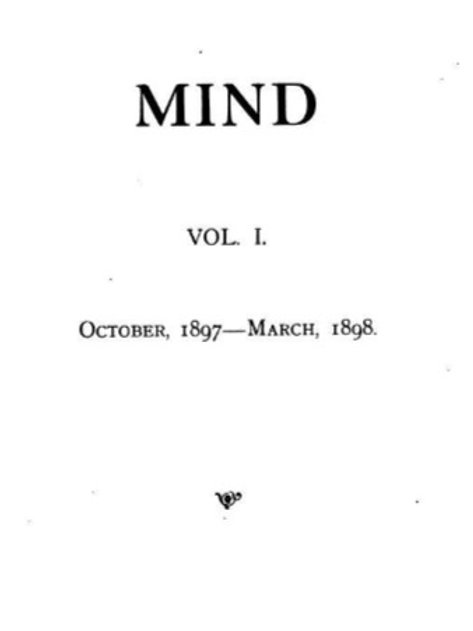 1897-1902 MIND Liberal and Advanced Thought 10 Volumes