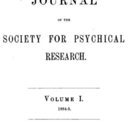 1884-1922 Journal for Psychial Research / Paranormal Phenomena 20 vol