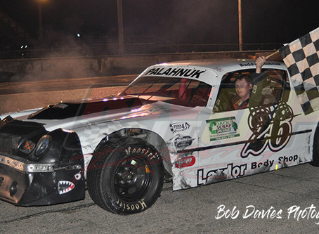 RESULTS;  Palahnuk pegs Feature win on Championship Night