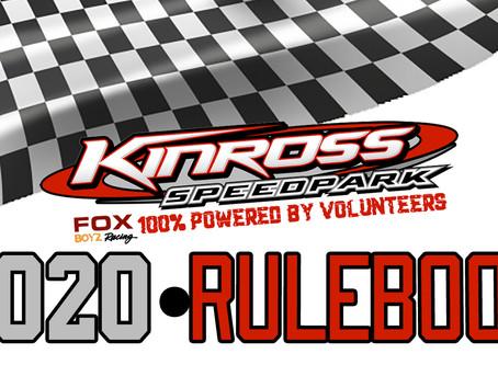 2020 Rulebook released