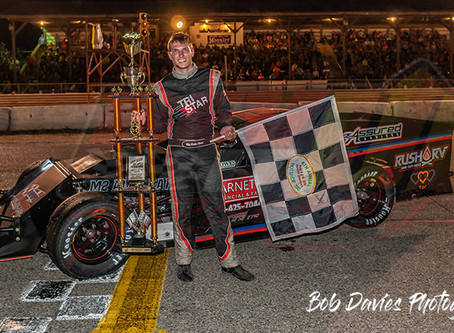 RESULTS;  Blake Rowe crowned 2019 Hot Shoe 100 Champion