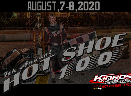 Kinross to welcome back Hot Shoe 100 in 2020