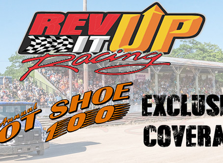 EXCLUSIVE COVERAGE;  RevItUp Racing behind the lens at the 2019 Hot Shoe 100