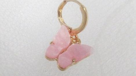 Blush Butterfly earrings