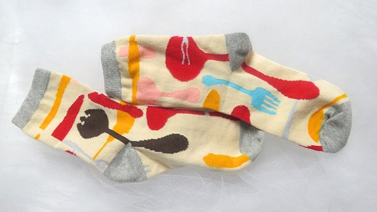 Fellin' Sharp socks