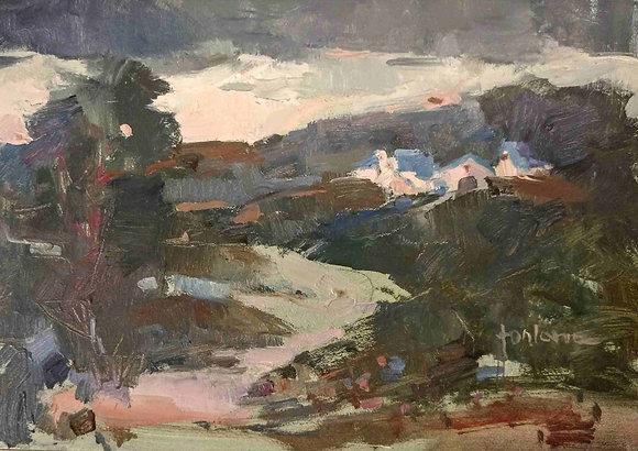 Francesco Fontana - Cielo steso sulla collina