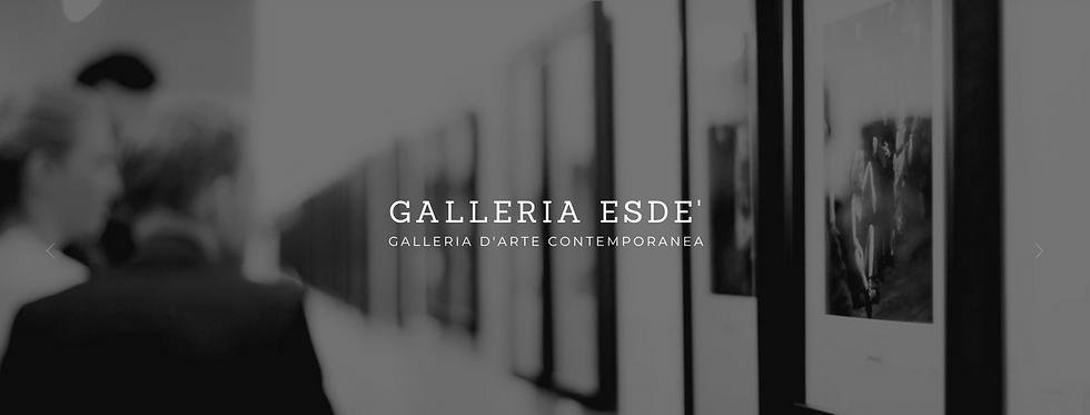 Galleria Esdé copertina sito web