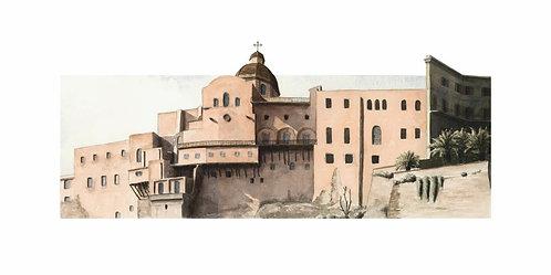 (stampa di) Cattedrale dal Terrapieno