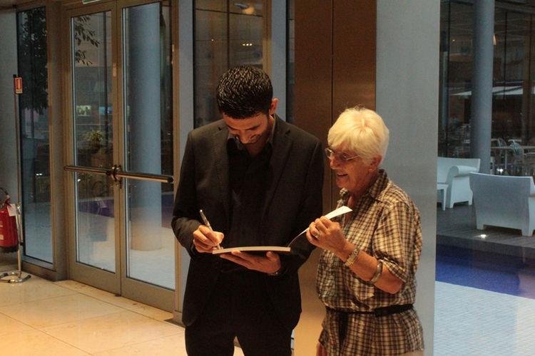 Firma copie, Davide Siddi e una lettrice