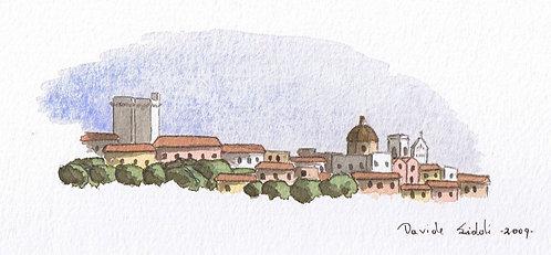 (stampa di) Cagliari mini