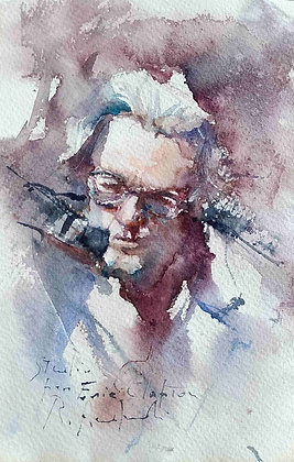 Roberto Andreoli - Studio per Eric Clapton