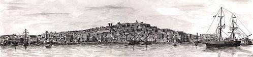 (stampa di) Cagliari 1890