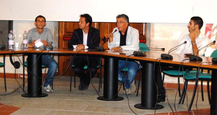 Conferenza stampa per l'inaugurazione della mostra dedicata al Castello di Acquafredda (Siliqua)