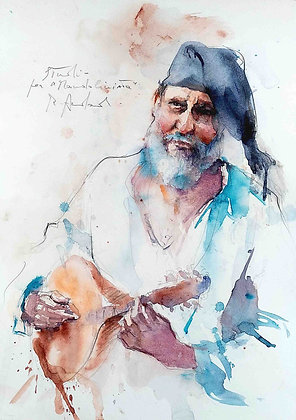 Roberto Andreoli - Studio per Mandolinista