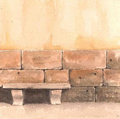 Davide Siddi - Panchina a San Sepolcro