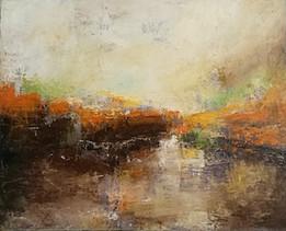 the-cascade-abstract-paint Bea Palatinus