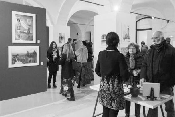 Mostra Internazionale dell'acquerello Galleria Esdé